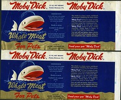 """Moby Dick"" pet food 