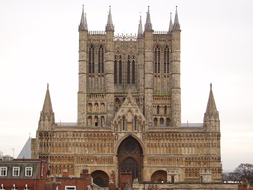 West Front Lincoln Cathedral Cuthbertian Flickr