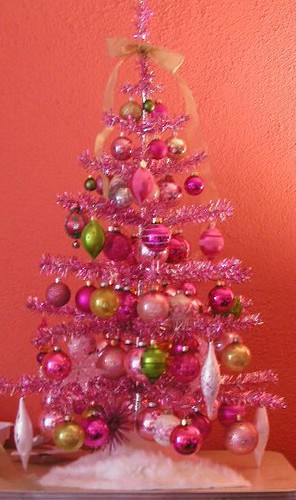 pink christmas tree | by nerdstroms