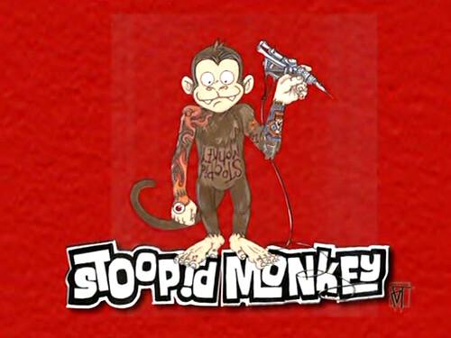 Stoopid Monkey Games Stoopid Monkey Robot Chicken