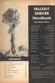 Fallout Shelter Handbook contents | by wardomatic