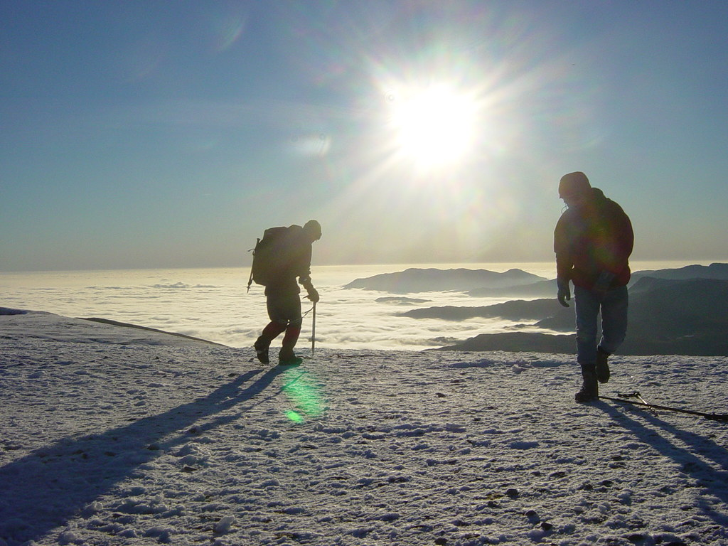Enjoy a walk over Helvellyn whilst staying at Skelwith Fold