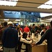 Very busy Apple store