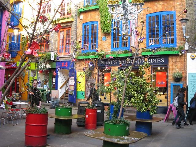 Neal S Yard Restaurant London