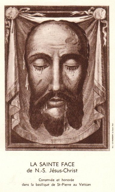 La Sainte Face de N.-S. Jésus-Christ | Conservée et ... | 301 x 500 jpeg 99kB