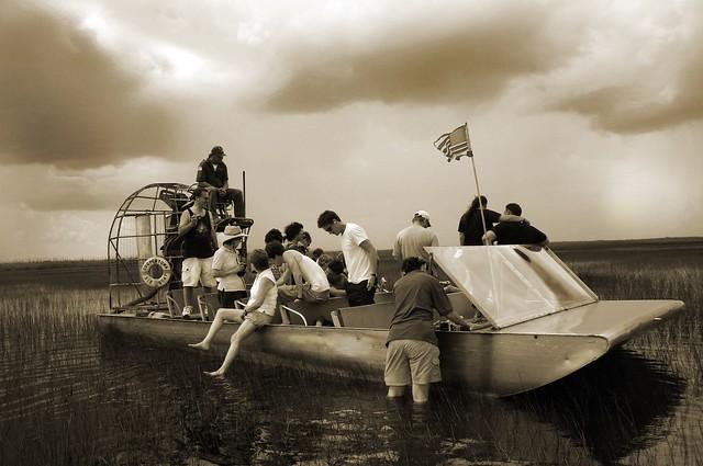 Fan Boat Ride Florida Everglades Flickr Photo Sharing