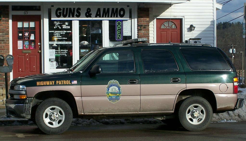 Now defunct new hampshire highway patrol concord nh for Department of motor vehicles concord new hampshire