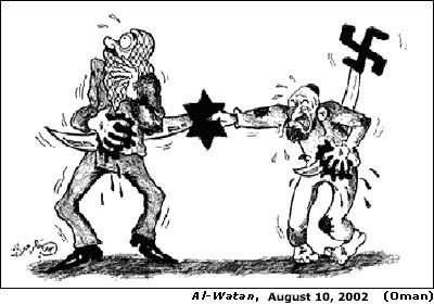Anti Arab Cartoons Anti-semitic Cartoon From The