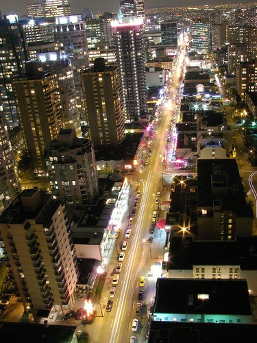 Robson st view | by Eyesplash - Summer was a blast, for 6 million view