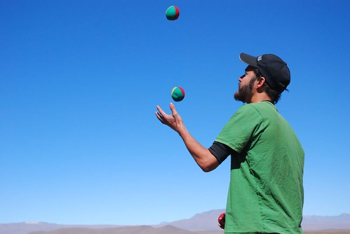 Juggling On The Altiplano | by Andy Hares