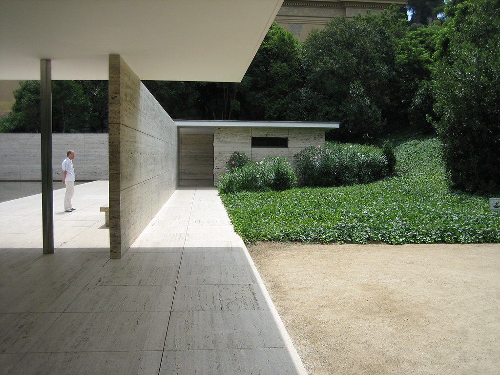 mies van der rohe barcelona pavilion pabell n alem n de l flickr. Black Bedroom Furniture Sets. Home Design Ideas