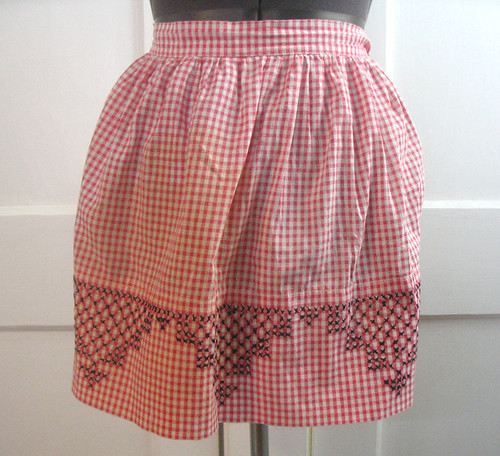 vintage apron - gingham | by colorkitten
