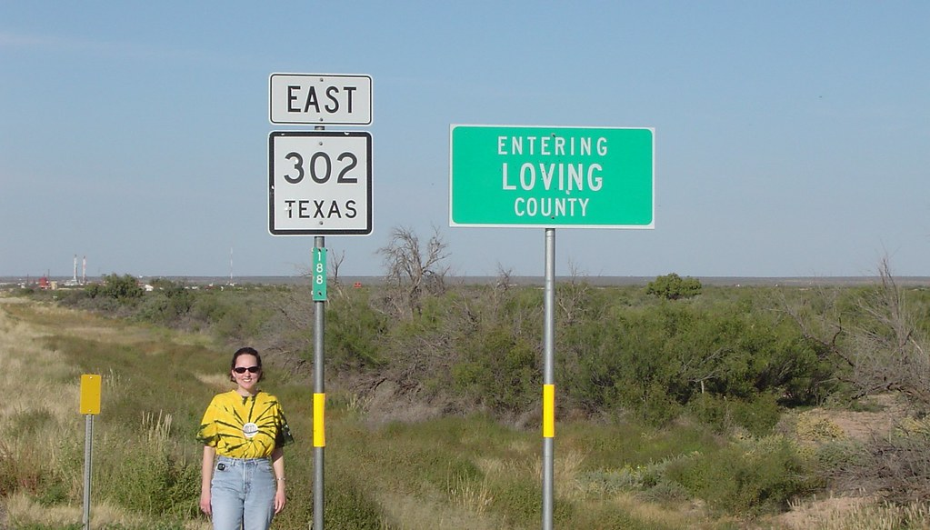 Loving County Texas Loving County Has The Lowest