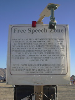 Free Speech Zone w/ camera | by blmurch