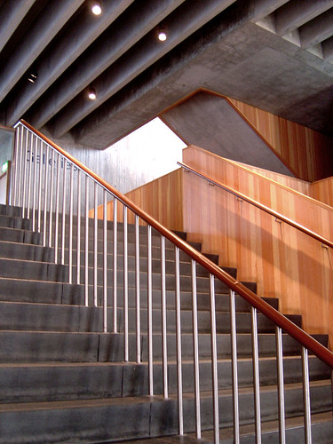 Walsall Art Gallery The Stairs In The Foyer Of The New