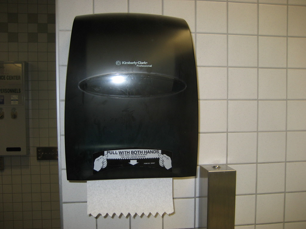 Paper Towels For Bathroom paper towel dispensers | flickr