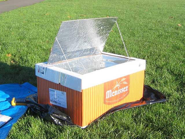 solar cooker lab report