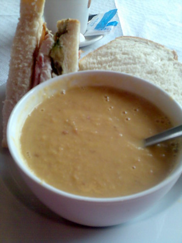Soup & Sandwich | by meriwilliams
