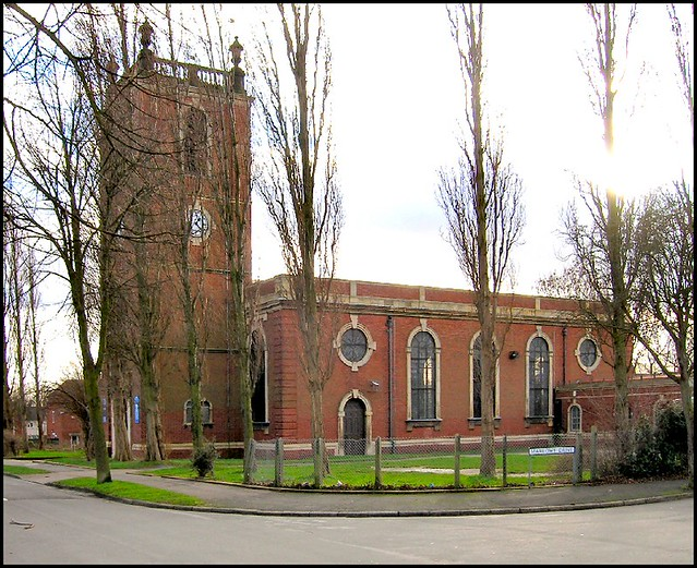 St Giles Lamb Gardens Lincoln This Church Hemmed In
