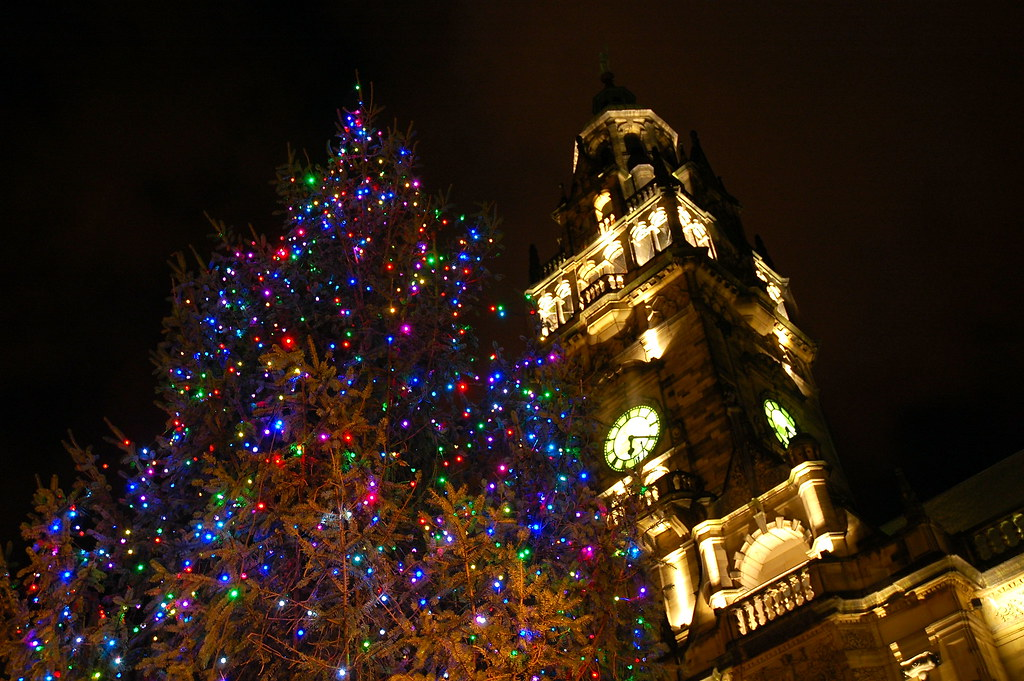 ... Christmas Tree at Town Hall, Sheffield | by KCLam - Christmas Tree At Town Hall, Sheffield Lam KC Flickr