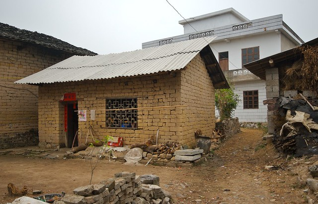 asian mud houses