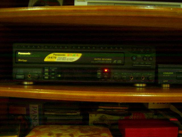 laser disc player