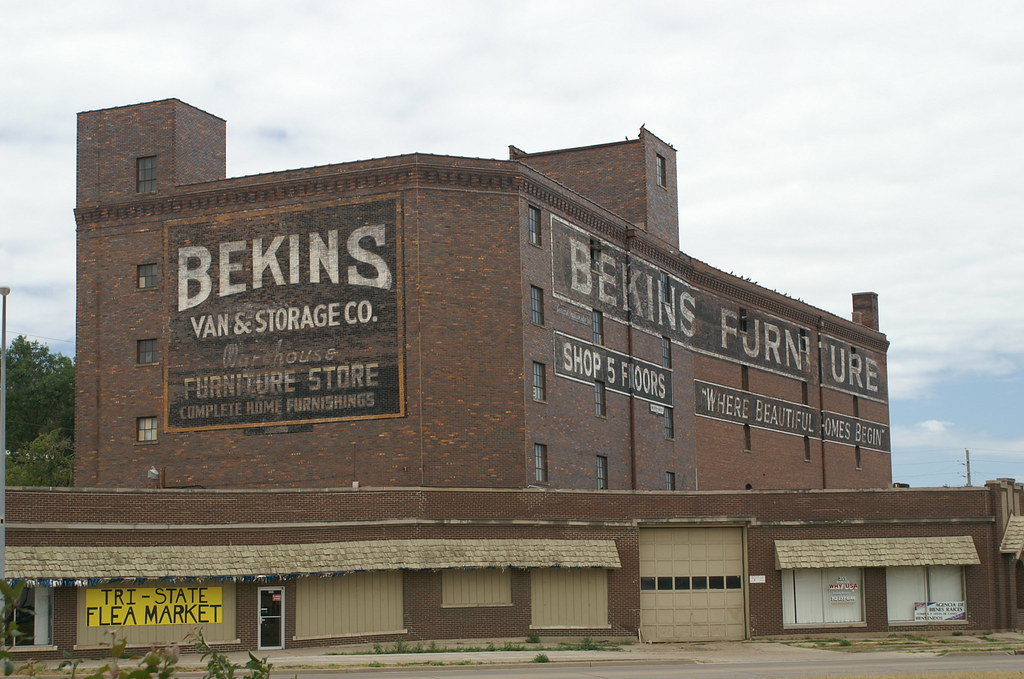 ... Sioux City, IA Bekins Furniture Building | By 58fairlane