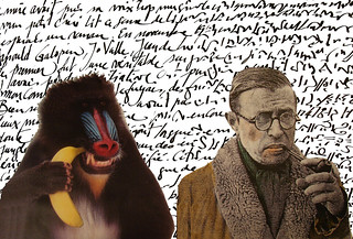 Sartre | by lord marmalade