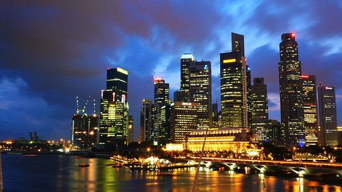Singapore CBD from the Esplanade | by Sherwin Huang