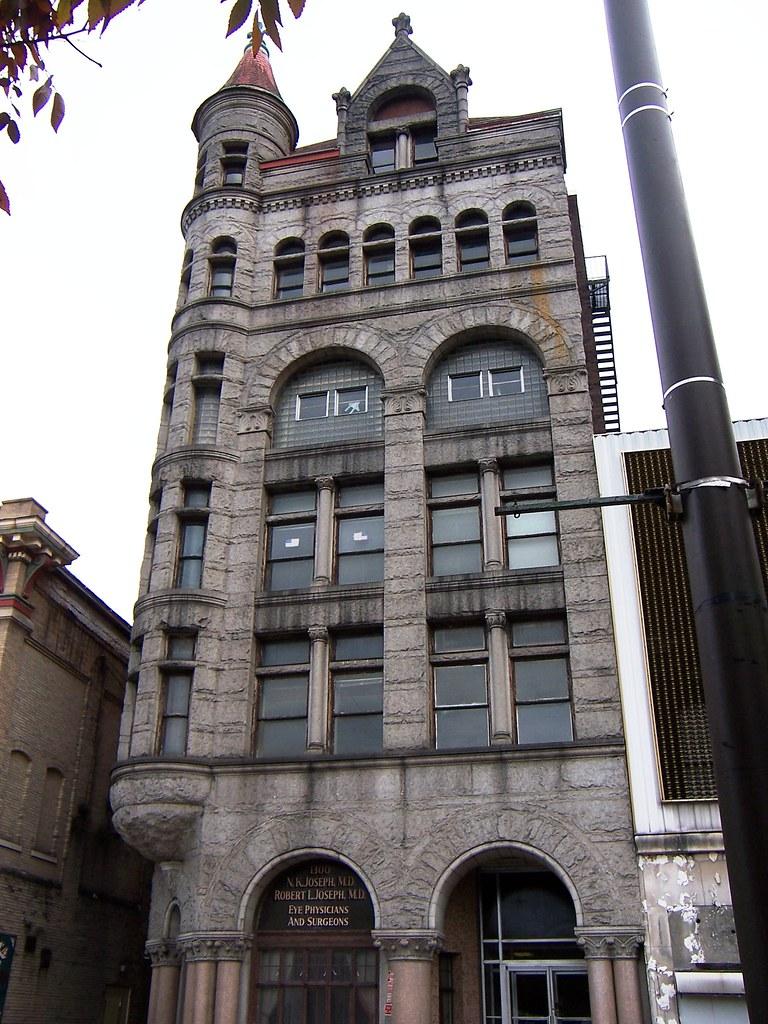 Wheeling Wv Richardsonian Romanesque Building The City