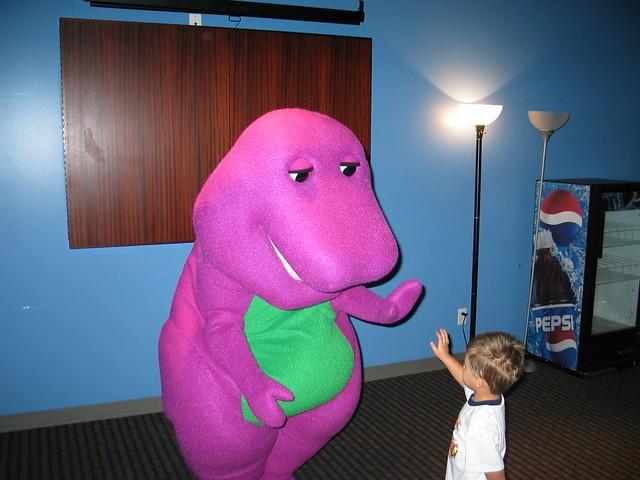 Barney Concert September Flickr - Barney concert part 1
