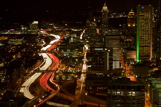 Atlanta Traffic at Night | by ndot