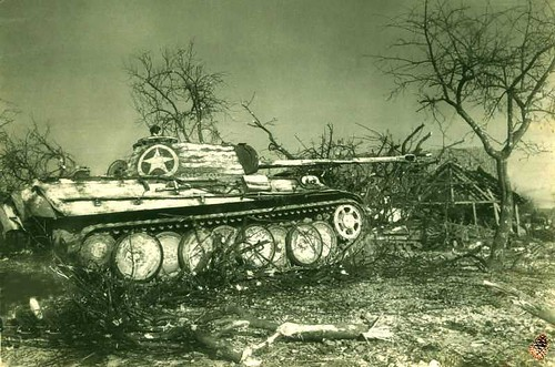 Tp 099 The Cuckoo A German Panther Tank Captured By The