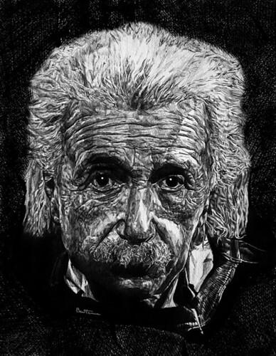 Albert Einstein | © Ben Heine || Facebook || Twitter ...