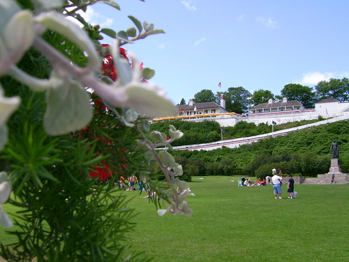 Fort Mackinac | by Mary McGuire | Mackinac Design