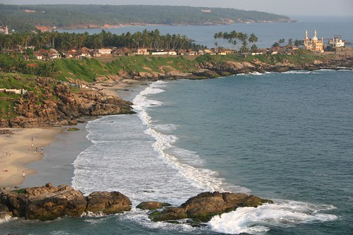 Kovalam from Lighthouse | by Kris Kumar