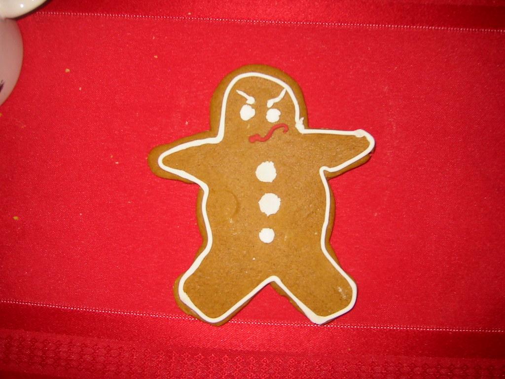 Gingerbread Grump Ricardo Signes Flickr