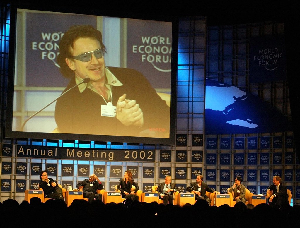 Bono - World Economic Forum Annual Meeting New York 2002 ...