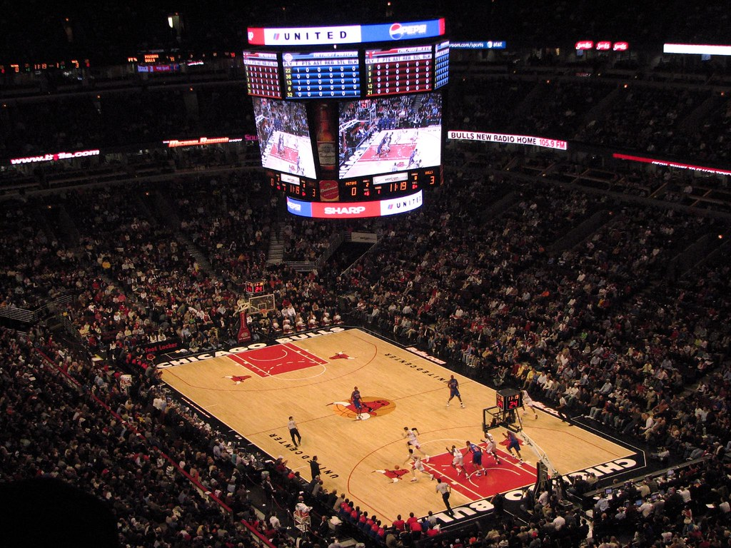 Exterior: Chicago Bulls Vs Detroit Pistons At