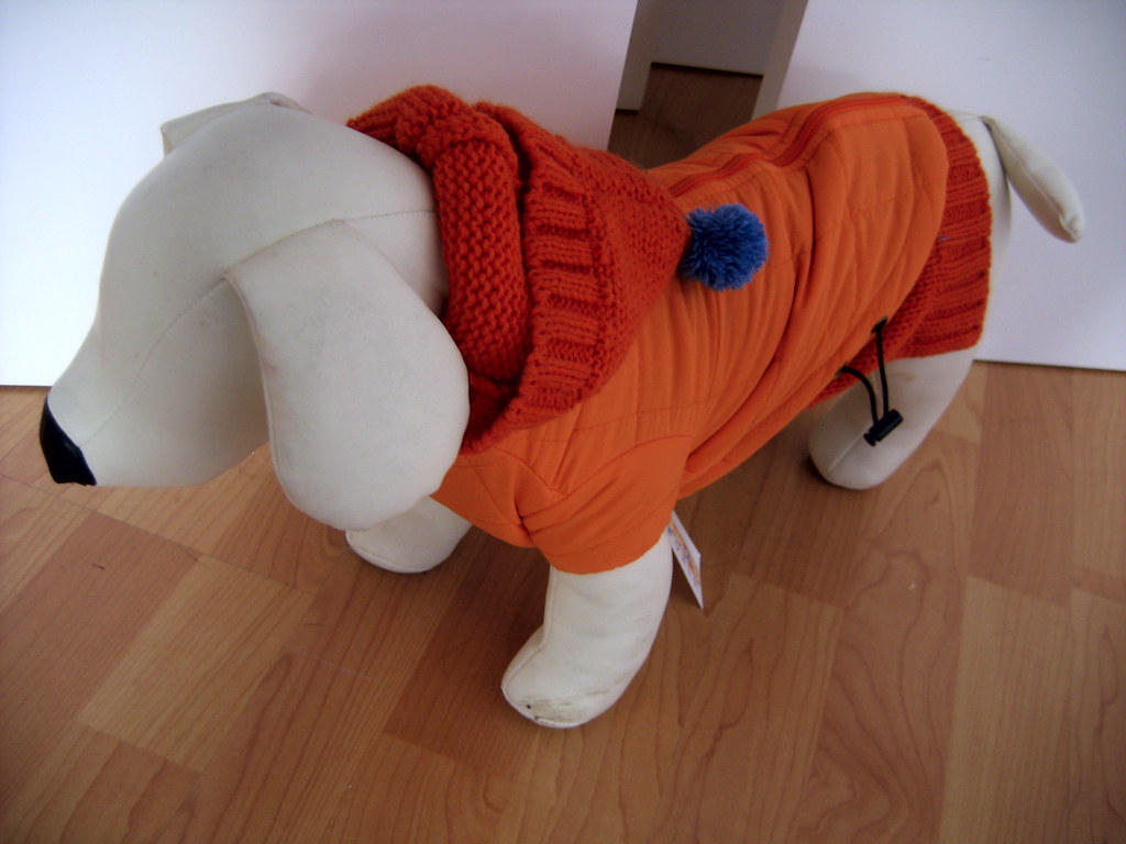 Dog Parka With  Legs For Toy Dogs