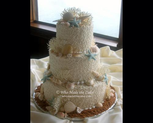 Wedding Cake With Bluebonnets
