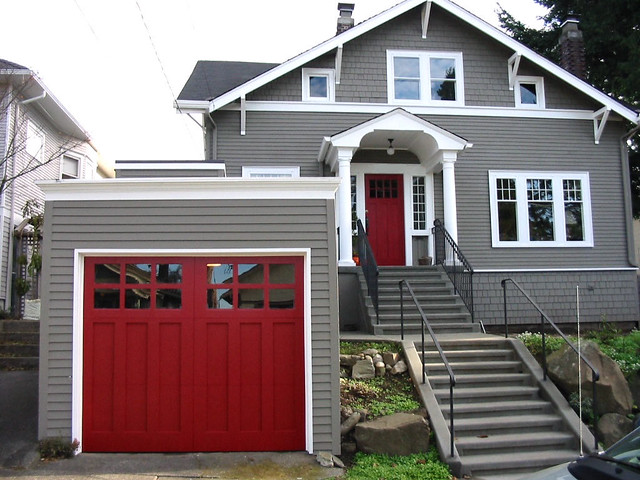 ... Ballard Craftsman Garage Door - Seattle Garage Door | by Custom Garage Door : door seattle - pezcame.com
