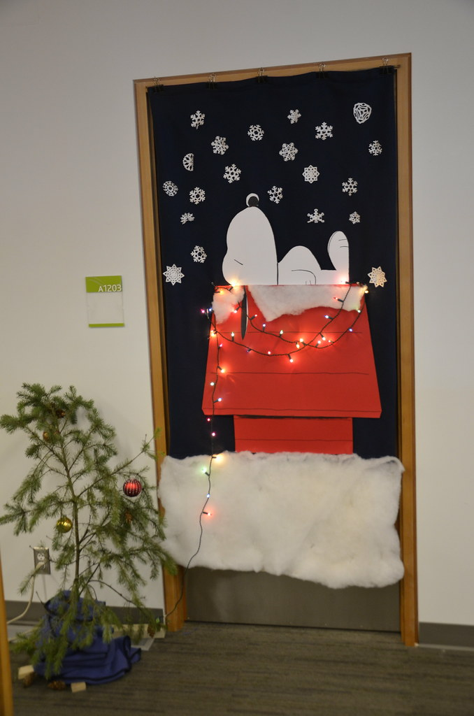 ... Christmas Door Decorating Contest | By University Of The Fraser Valley
