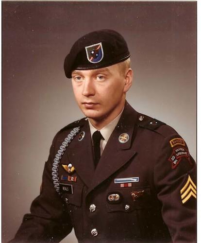 Special forces dress uniform