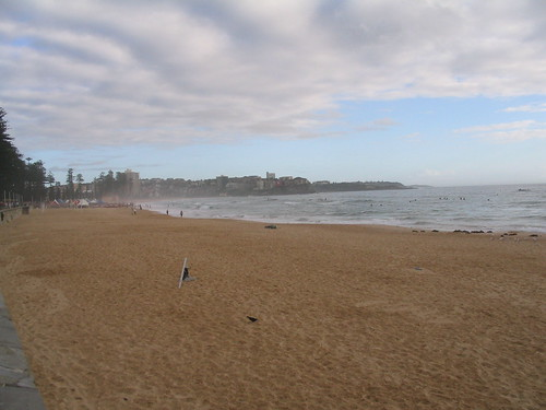 how to get to reef beach manly