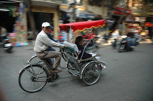 """Cyclo"" driver in Hanoi"