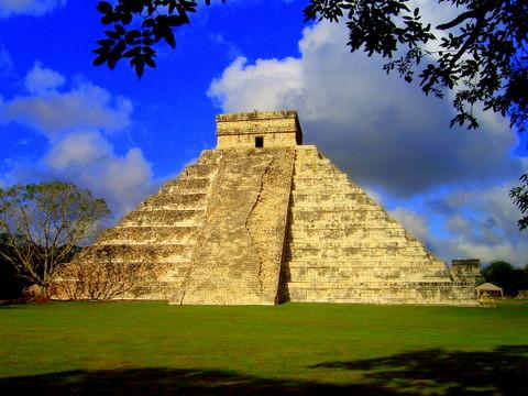 Mayan Sun and Moon tem...