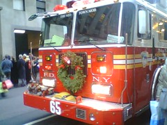 Festive fire truck.jpg | by Chris Tengi