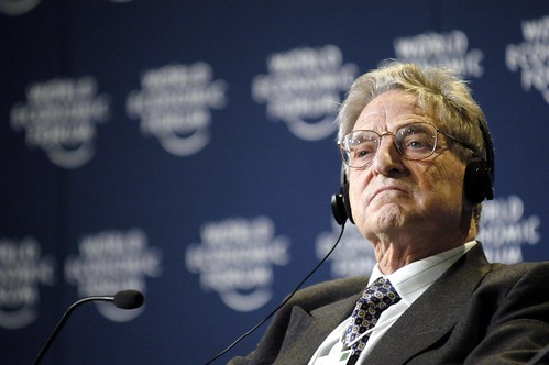 George Soros - World Economic Forum Annual Meeting Davos 2003 | by World Economic Forum