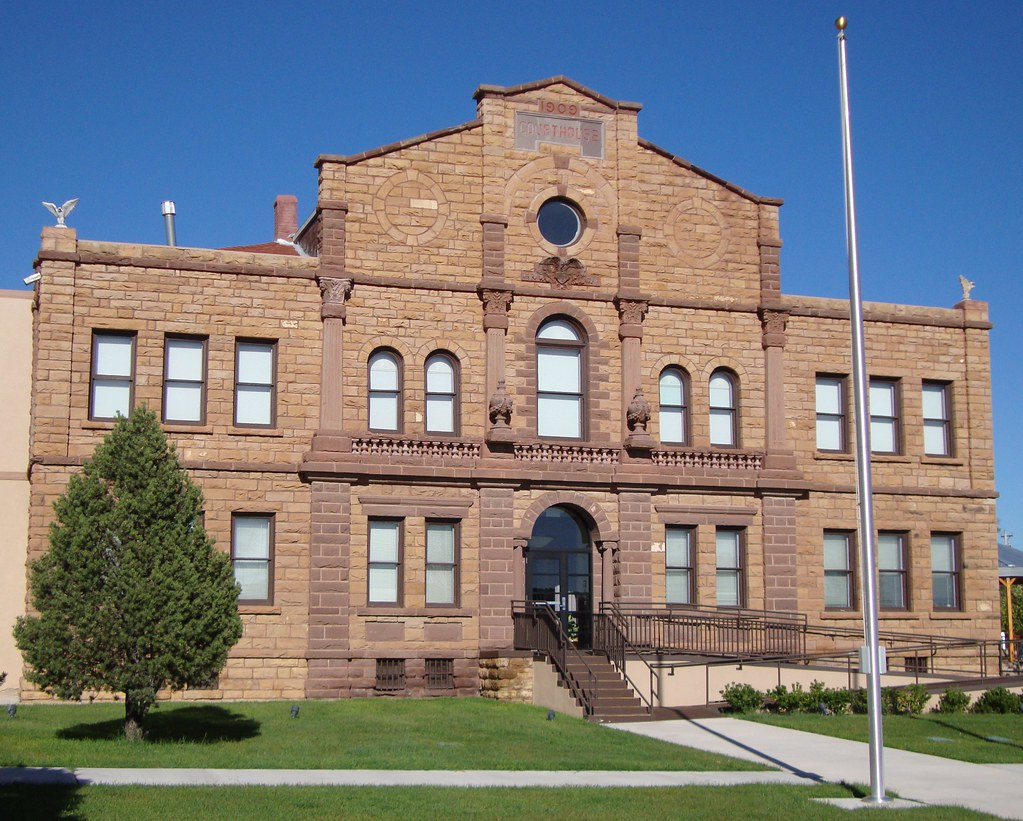 New mexico guadalupe county santa rosa -  Guadalupe County Courthouse Santa Rosa New Mexico By Courthouselover